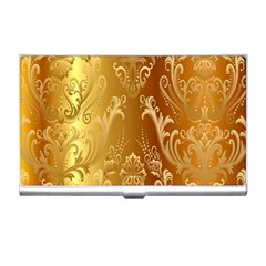 Golden Pattern Vintage Gradient Vector Business Card Holders