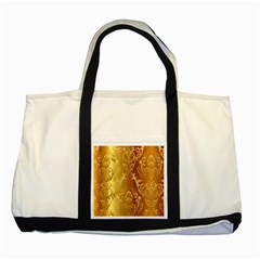 Golden Pattern Vintage Gradient Vector Two Tone Tote Bag