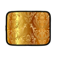 Golden Pattern Vintage Gradient Vector Netbook Case (small)  by BangZart