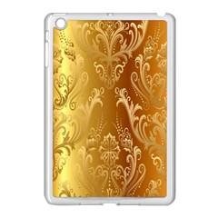 Golden Pattern Vintage Gradient Vector Apple Ipad Mini Case (white) by BangZart