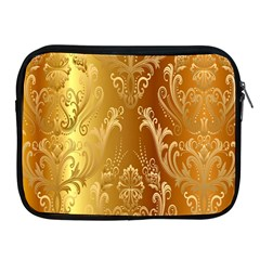 Golden Pattern Vintage Gradient Vector Apple Ipad 2/3/4 Zipper Cases