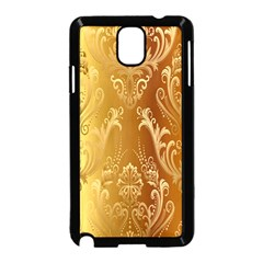 Golden Pattern Vintage Gradient Vector Samsung Galaxy Note 3 Neo Hardshell Case (black)