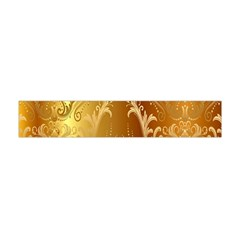 Golden Pattern Vintage Gradient Vector Flano Scarf (mini)