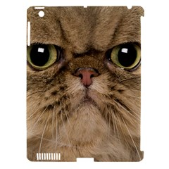 Cute Persian Catface In Closeup Apple Ipad 3/4 Hardshell Case (compatible With Smart Cover)