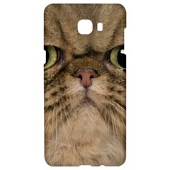 Cute Persian Catface In Closeup Samsung C9 Pro Hardshell Case  by BangZart