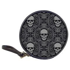 Dark Horror Skulls Pattern Classic 20 Cd Wallets