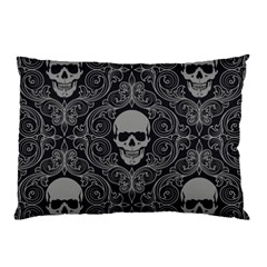 Dark Horror Skulls Pattern Pillow Case (two Sides)