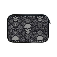 Dark Horror Skulls Pattern Apple Ipad Mini Zipper Cases