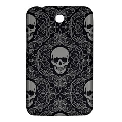 Dark Horror Skulls Pattern Samsung Galaxy Tab 3 (7 ) P3200 Hardshell Case  by BangZart