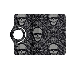Dark Horror Skulls Pattern Kindle Fire Hd (2013) Flip 360 Case by BangZart