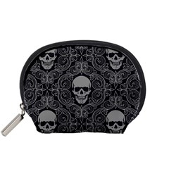 Dark Horror Skulls Pattern Accessory Pouches (small)  by BangZart