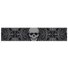 Dark Horror Skulls Pattern Flano Scarf (small) by BangZart