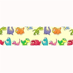 Group Of Funny Dinosaurs Graphic Large Bar Mats