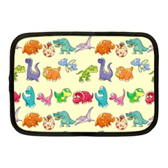 Group Of Funny Dinosaurs Graphic Netbook Case (medium)  by BangZart