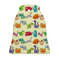 Group Of Funny Dinosaurs Graphic Ornament (bell)