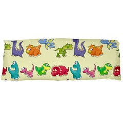 Group Of Funny Dinosaurs Graphic Body Pillow Case Dakimakura (two Sides)