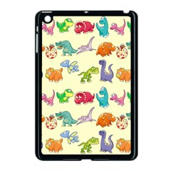 Group Of Funny Dinosaurs Graphic Apple Ipad Mini Case (black)