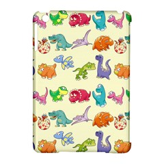 Group Of Funny Dinosaurs Graphic Apple Ipad Mini Hardshell Case (compatible With Smart Cover)