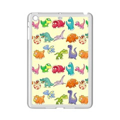 Group Of Funny Dinosaurs Graphic Ipad Mini 2 Enamel Coated Cases by BangZart