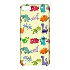 Group Of Funny Dinosaurs Graphic Apple Ipod Touch 5 Hardshell Case With Stand