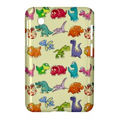 Group Of Funny Dinosaurs Graphic Samsung Galaxy Tab 2 (7 ) P3100 Hardshell Case