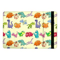 Group Of Funny Dinosaurs Graphic Samsung Galaxy Tab Pro 10 1  Flip Case by BangZart