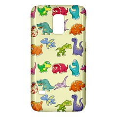 Group Of Funny Dinosaurs Graphic Galaxy S5 Mini