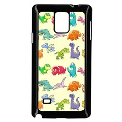 Group Of Funny Dinosaurs Graphic Samsung Galaxy Note 4 Case (black) by BangZart