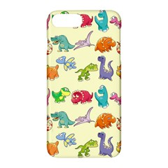 Group Of Funny Dinosaurs Graphic Apple Iphone 7 Plus Hardshell Case