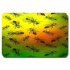 Insect Pattern Large Doormat