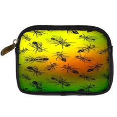Insect Pattern Digital Camera Cases by BangZart