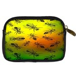 Insect Pattern Digital Camera Cases Back