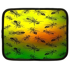 Insect Pattern Netbook Case (xxl)