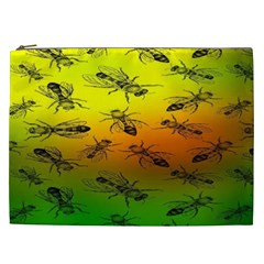 Insect Pattern Cosmetic Bag (xxl)