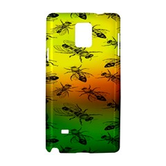 Insect Pattern Samsung Galaxy Note 4 Hardshell Case