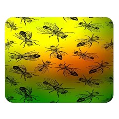 Insect Pattern Double Sided Flano Blanket (large)  by BangZart