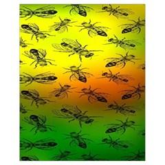 Insect Pattern Drawstring Bag (small)