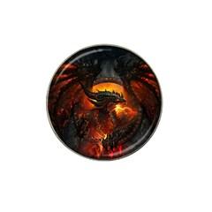 Dragon Legend Art Fire Digital Fantasy Hat Clip Ball Marker (10 Pack)