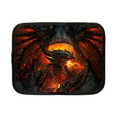 Dragon Legend Art Fire Digital Fantasy Netbook Case (small)