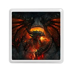 Dragon Legend Art Fire Digital Fantasy Memory Card Reader (square)  by BangZart