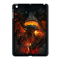 Dragon Legend Art Fire Digital Fantasy Apple Ipad Mini Case (black)