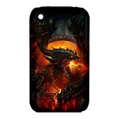 Dragon Legend Art Fire Digital Fantasy Iphone 3s/3gs by BangZart