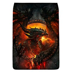 Dragon Legend Art Fire Digital Fantasy Flap Covers (s)  by BangZart
