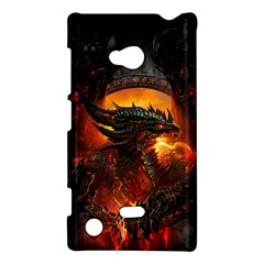 Dragon Legend Art Fire Digital Fantasy Nokia Lumia 720 by BangZart
