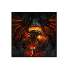 Dragon Legend Art Fire Digital Fantasy Satin Bandana Scarf