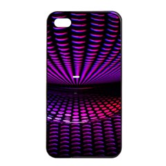 Glass Ball Texture Abstract Apple Iphone 4/4s Seamless Case (black)