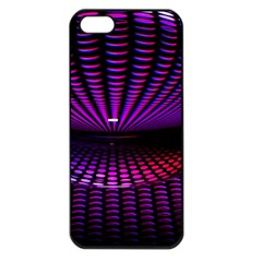 Glass Ball Texture Abstract Apple Iphone 5 Seamless Case (black)