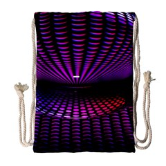 Glass Ball Texture Abstract Drawstring Bag (large)