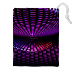 Glass Ball Texture Abstract Drawstring Pouches (xxl)