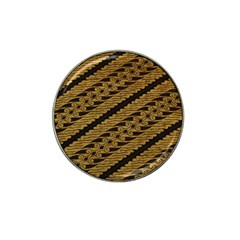 Traditional Art Indonesian Batik Hat Clip Ball Marker (10 Pack)
